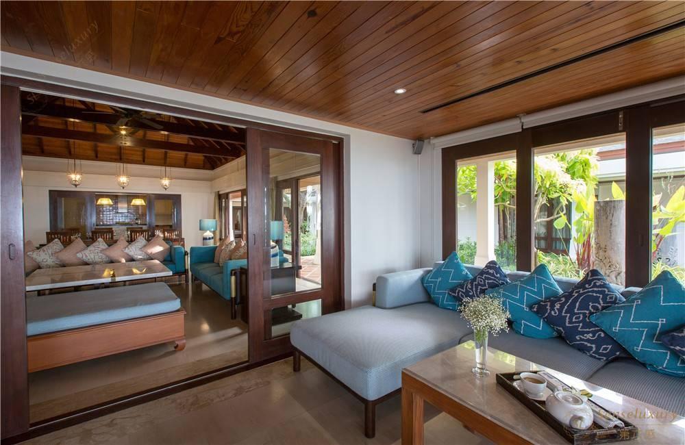 泰国苏梅岛密斯卡湾金合欢别墅休息区