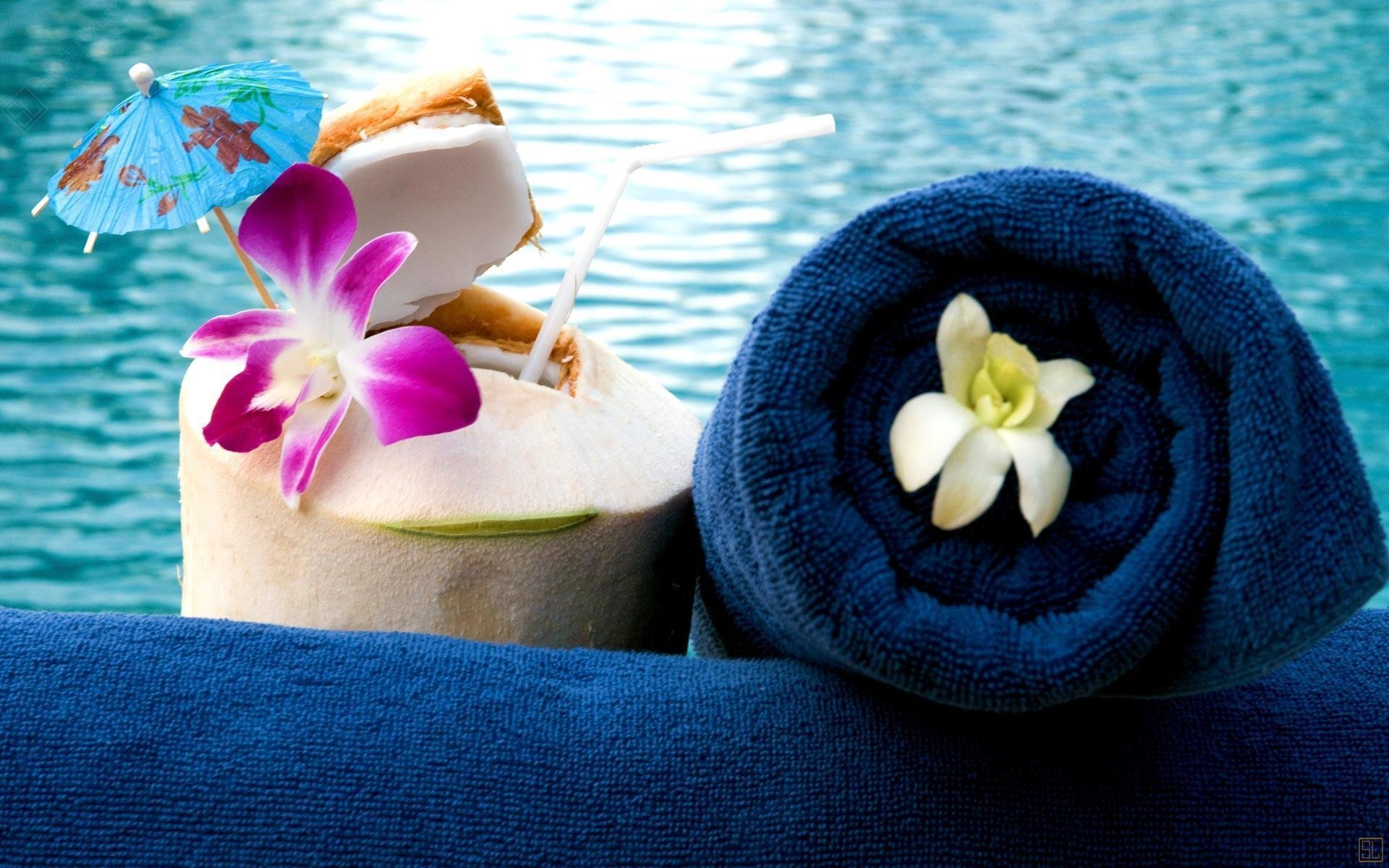 泰国苏梅岛密斯卡湾罗望子别墅浴巾
