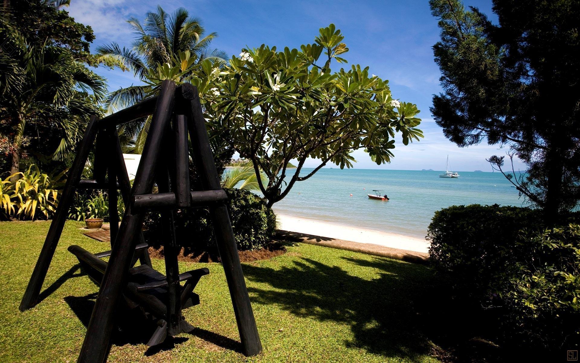 泰国苏梅岛密斯卡湾罗望子别墅海景