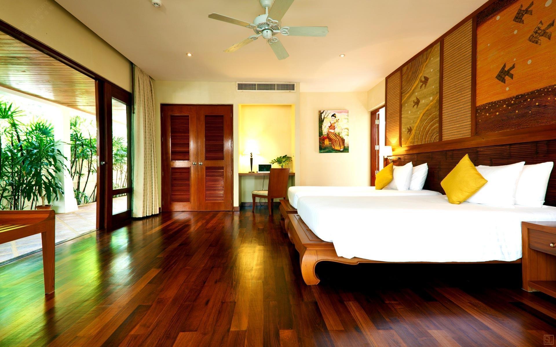 泰国苏梅岛密斯卡湾九重葛别墅卧室