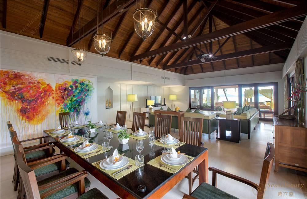泰国苏梅岛密斯卡湾九重葛别墅餐厅