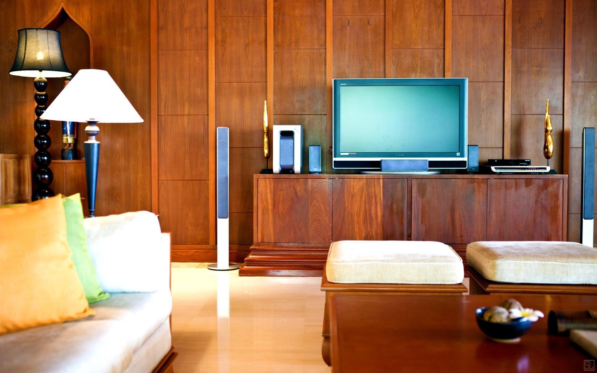 泰国苏梅岛密斯卡湾九重葛别墅客厅