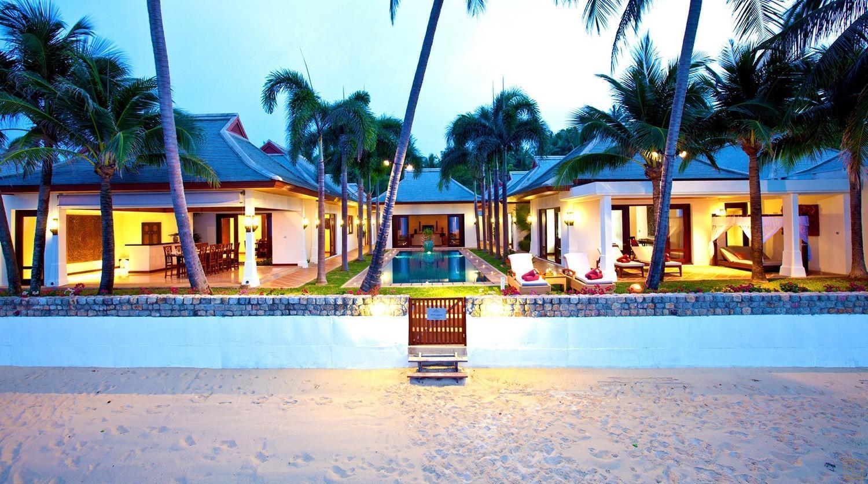 泰国苏梅岛密斯卡湾素馨别墅全景