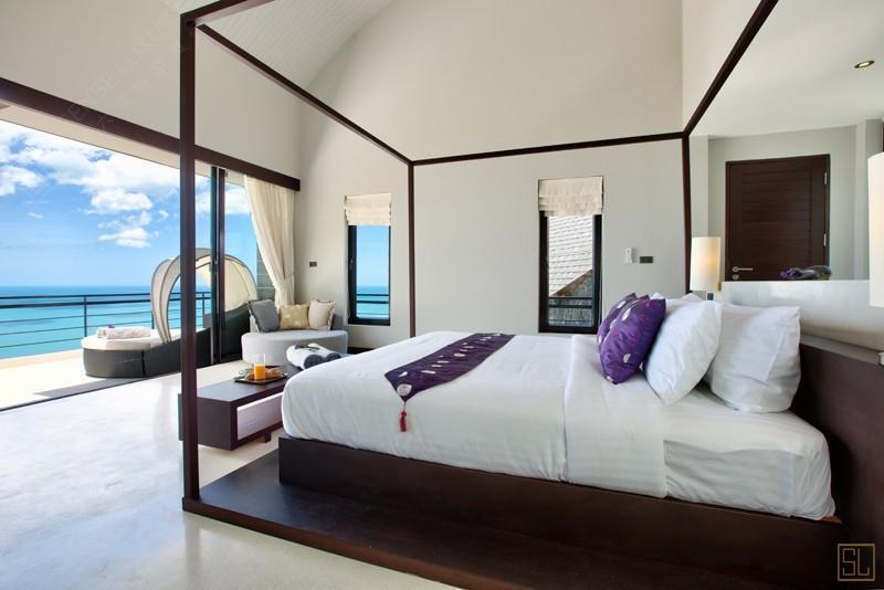 泰国苏梅岛月影别墅海景房