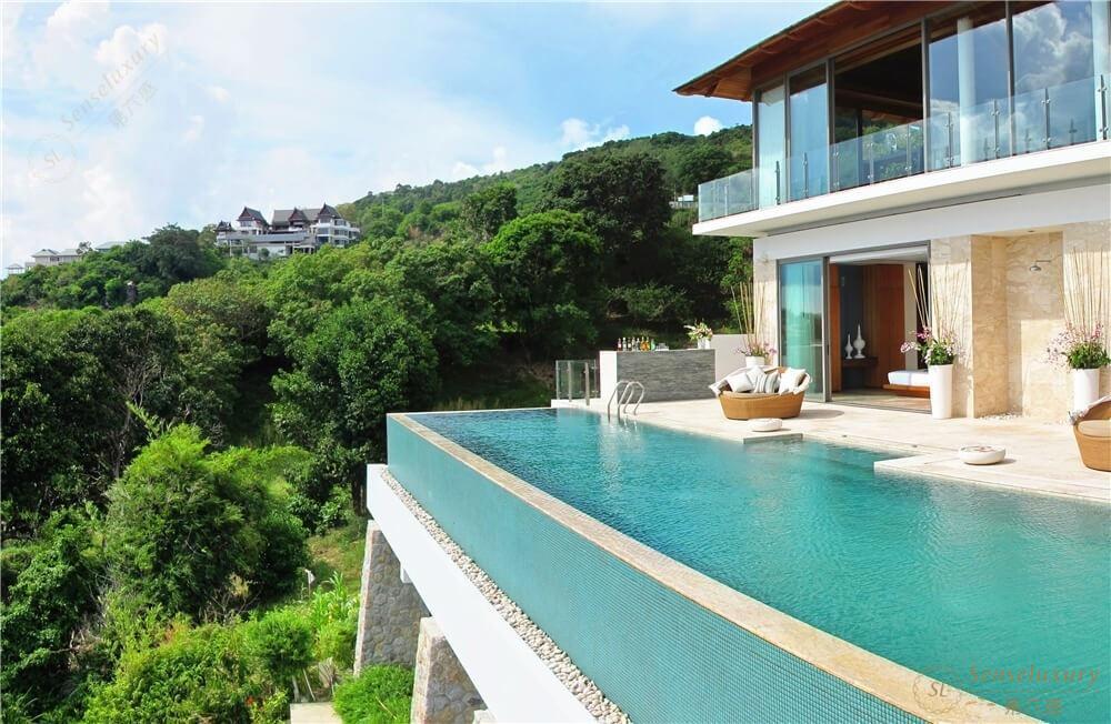 泰国普吉岛自由别墅山景