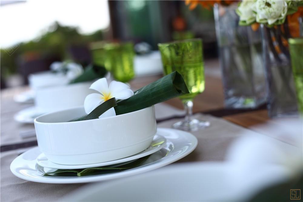 泰国苏梅岛嘉卡湾别墅餐具
