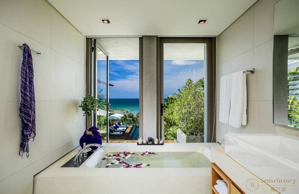 泰国普吉岛若索别墅浴缸