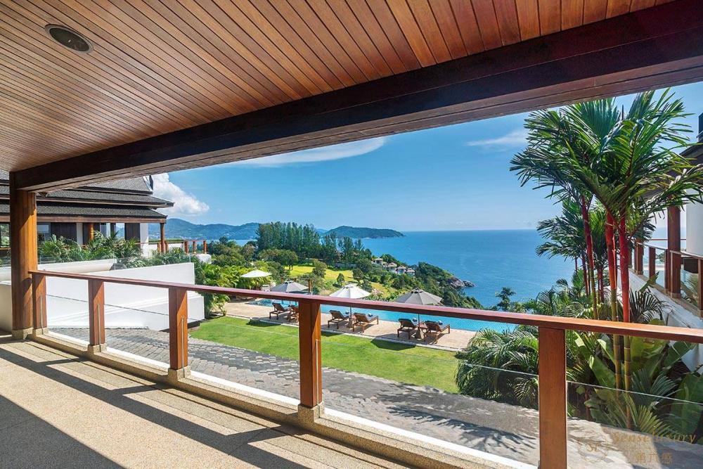 泰国普吉岛艾逸别墅海景