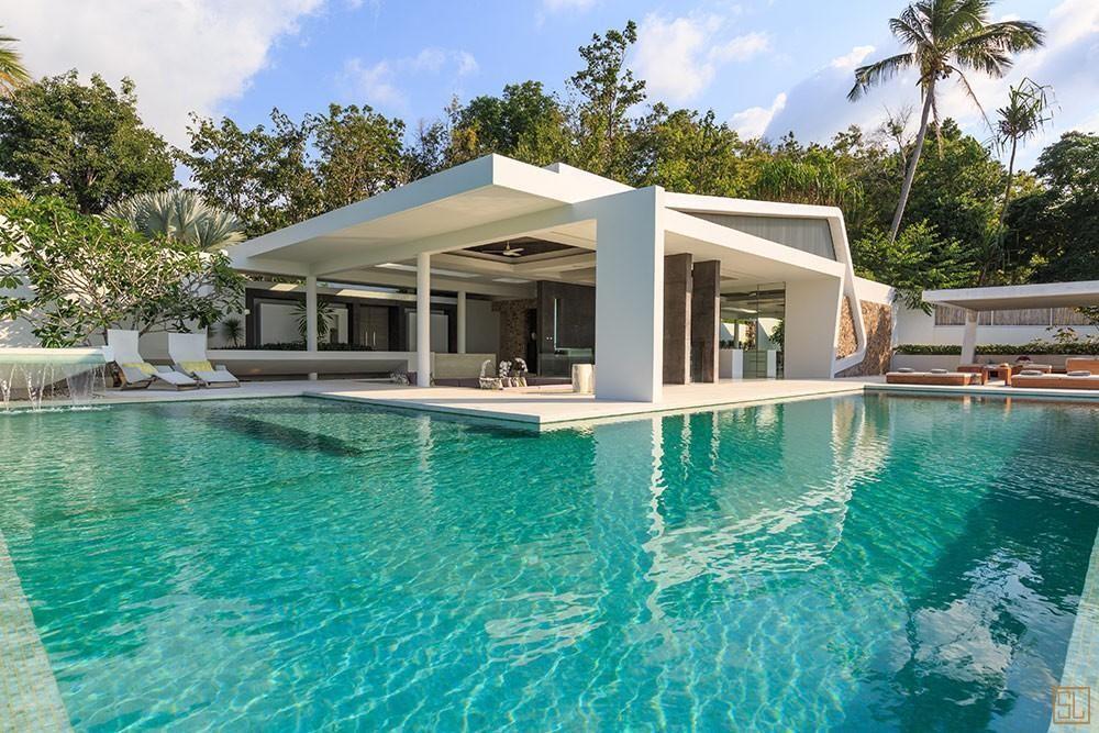 泰国苏梅岛青瓷别墅庭院