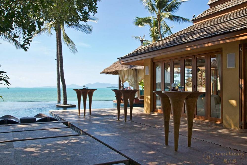 泰国苏梅岛奥义顿尼娅别墅院子