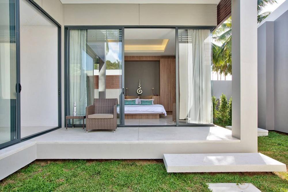 泰国苏梅岛妮恩别墅庭院
