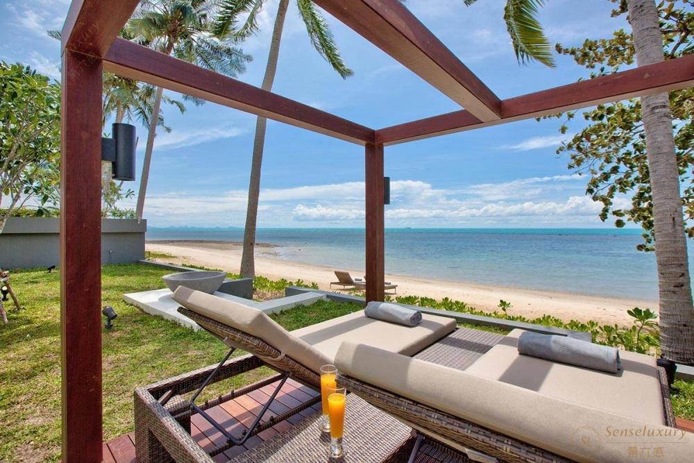 泰国苏梅岛妮恩别墅海滩