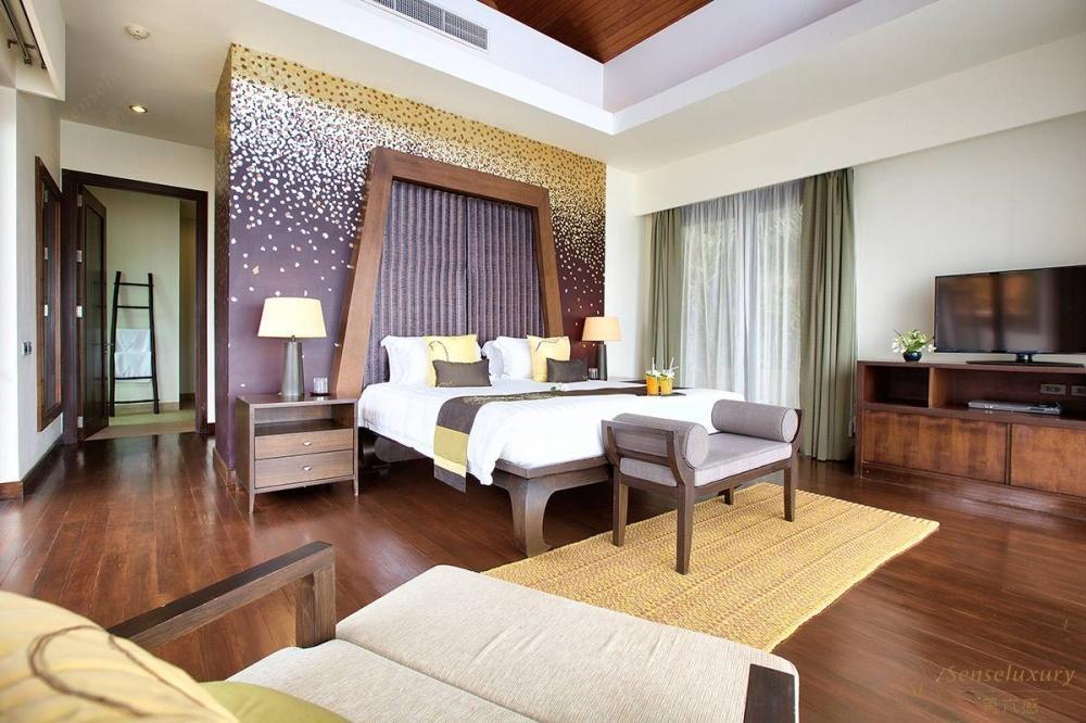 泰国苏梅岛象语别墅卧室