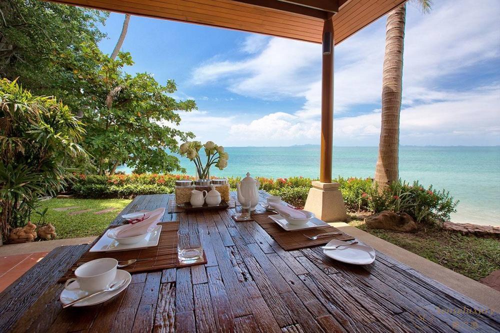 泰国苏梅岛象语别墅休息区
