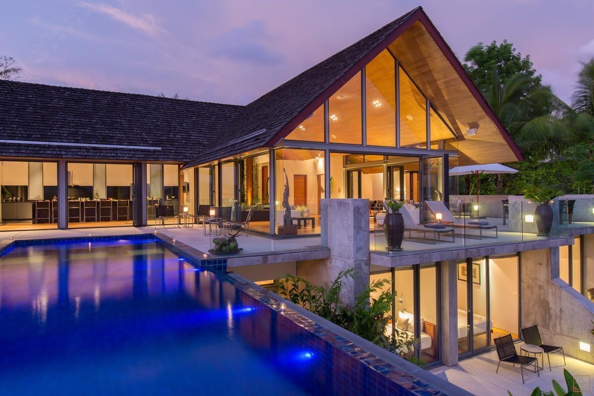 泰国普吉岛萨姆萨拉-班雅诗瑞别墅庭院