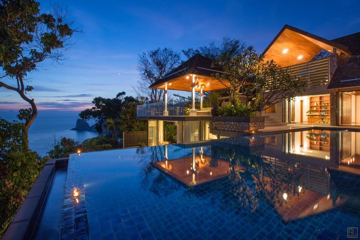 泰国普吉岛萨姆萨拉-哈尔玛利亚别墅海景
