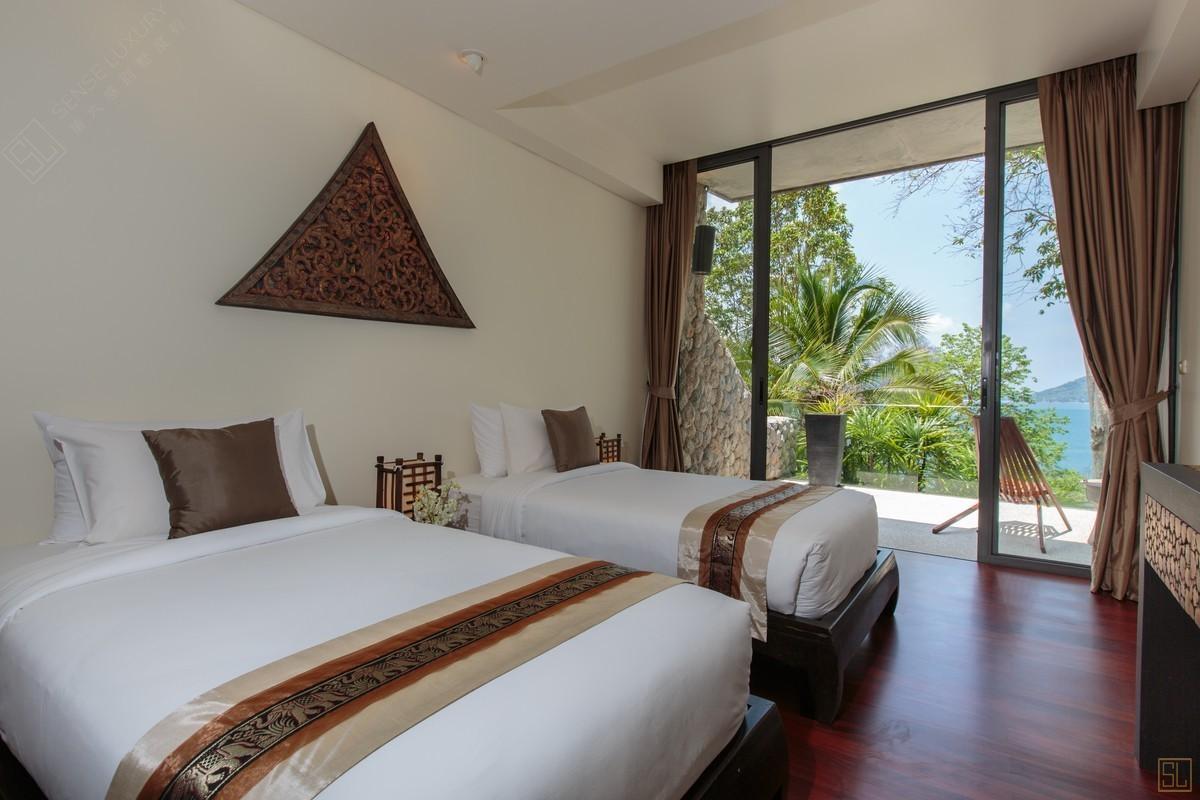 泰国普吉岛萨姆萨拉-利拉瓦蒂别墅海景房