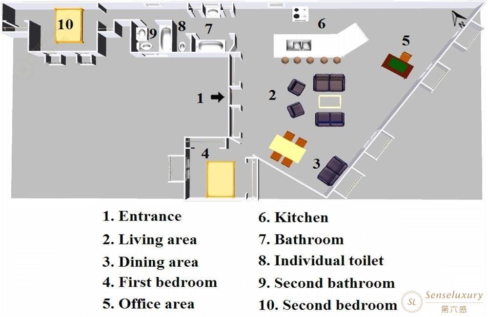 第六感Senseluxury 度假別墅-加朗斯公寓-screenshot-19