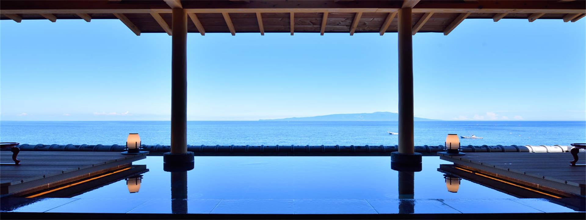伊东豆温泉 望水日式海景房,极佳的海景视角