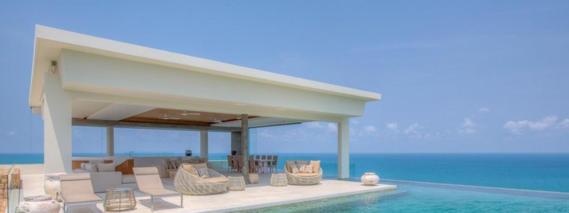 蘇梅島 薩穆嘉納30號別墅明星最愛,極致的海景